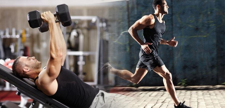 Συνδυάστε αερόβια άσκηση με προπόνηση δύναμης για καλύτερα αποτελέσματα