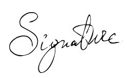 Υπογραφή του Dr. Γεώργιος Γκουδέλης