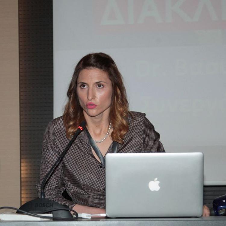 Μέλος της ομάδας της MPBalatsinos: Βασιλική Γαροπούλου