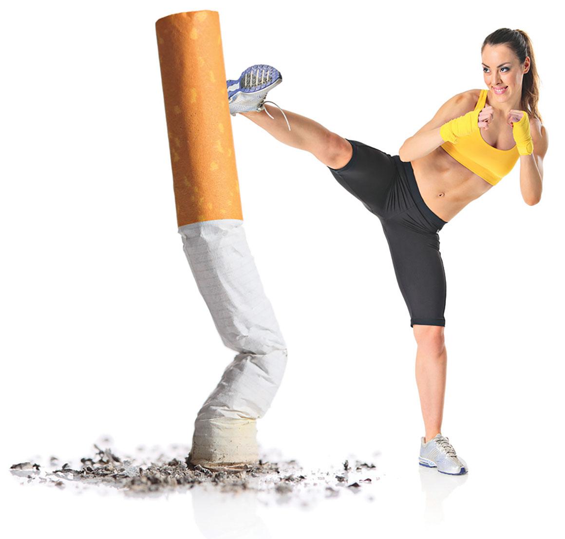Κύρια φωτογραφία για το άρθρο: Κάπνισμα και φυσική δραστηριότητα