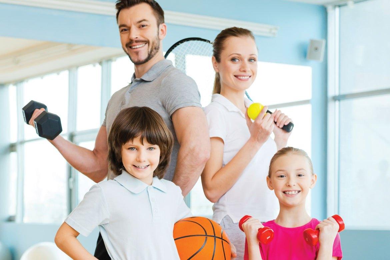 3 εύκολες λύσεις για να παραμείνετε δραστήριοι οικογενειακώς