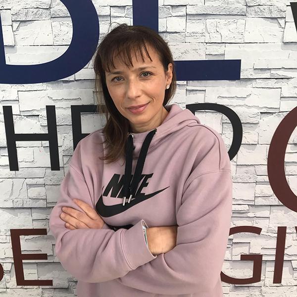 Μέλος της ομάδας της MPBalatsinos: Κατερίνα Πυριόχου