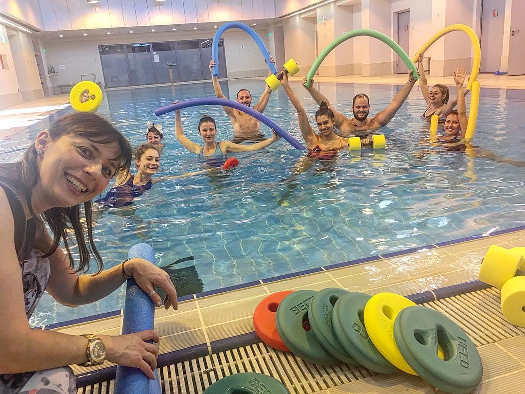 Εκπαίδευση Aqua Aerobic Instructor