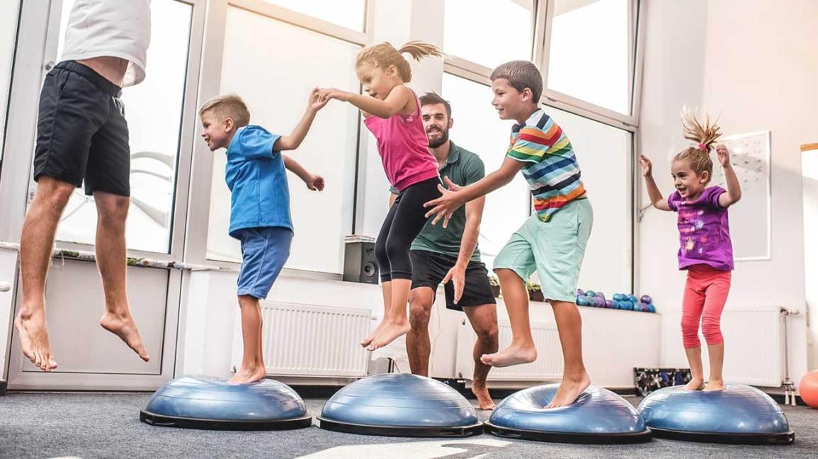 Κύρια φωτογραφία για το άρθρο: Φυσική κατάσταση στην παιδική ηλικία. Το θεμέλιο της ανάπτυξης!